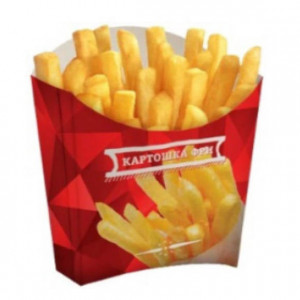Брендирование - Коробки для картошки фри
